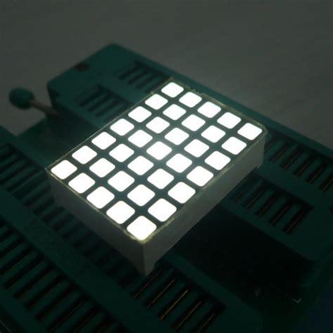 ultra red dot matrix led display       mm