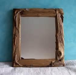 driftwood mirror 13 25 x 15 5 beach cottage decor driftwood