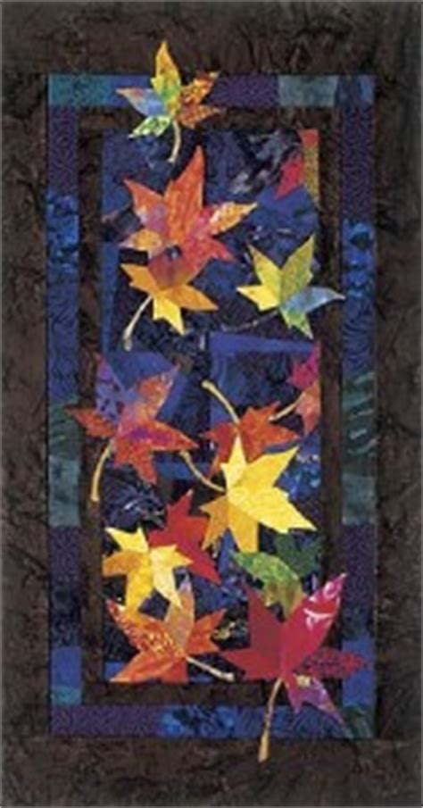 Bee Creative Quilt Patterns by Drifters Autumn Fall Leaf Leaves Bee Creative Quilt
