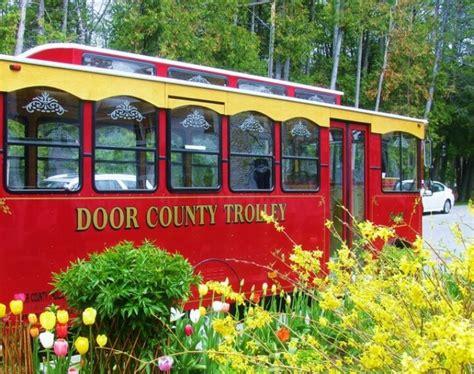 Door County Trolley Tours by Door County Door County Dreaming Doors And