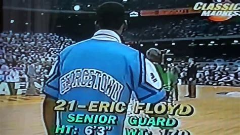 Georgetown Mba Vs Unc Mba by 1982 Ncaa Basketball Carolina Vs Georgetown