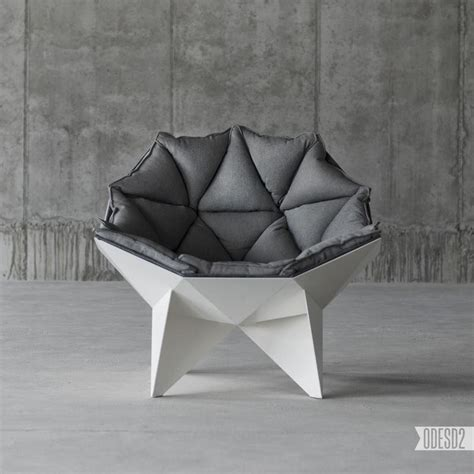 modern chair based on geodesic dome surface q1 lounge chair home building furniture and