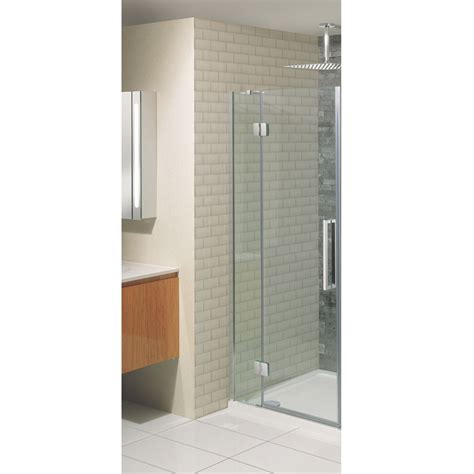 Hinged Shower Doors Uk Simpsons Ten Hinged Shower Door With Inline Panel 5 Size Options At Plumbing Uk