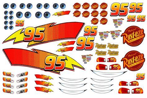 Lightning Mcqueen Car Stickers