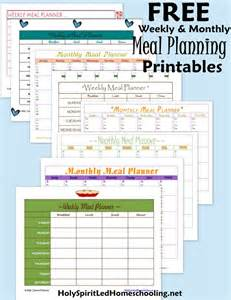 free printable menu planner template free monthly meal planner new calendar template site