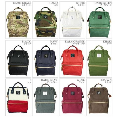 Anello Bag anello japan backpack cus rucksack canvas school big