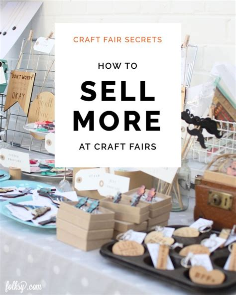 How To Sell Handmade Products - 25 best craft fair displays ideas on