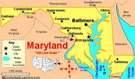 maryland map cities map of maryland with cities and towns afputra