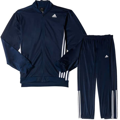 Set Navy adidas essential mens tracksuit set navy blue ebay