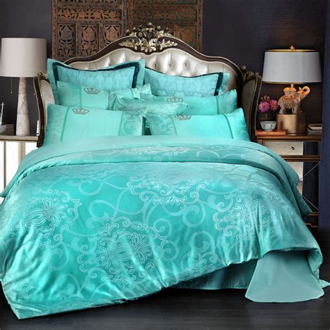 Turquoise King Bedding Sets Turquoise Comforter Promotion Shop For Promotional Turquoise Comforter On Aliexpress
