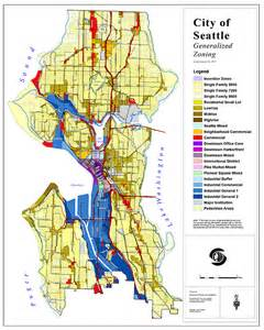 Seattle Zoning Map by Look At The Amount Of Space In Seattle Dedicated To Single
