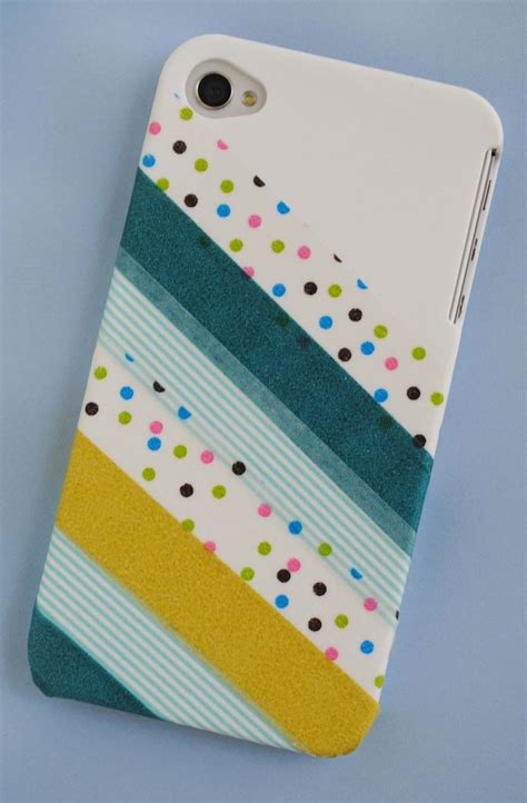washi tape crafts zakka life craft washi tape phone cover