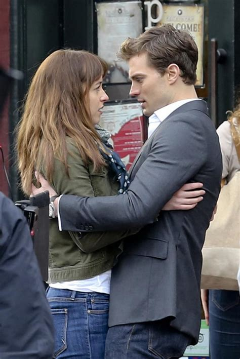 fifty shades of grey first full scene released fifty fifty shades of grey first film poster released ny
