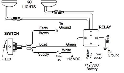 driving light relay wiring diagram wiring diagram