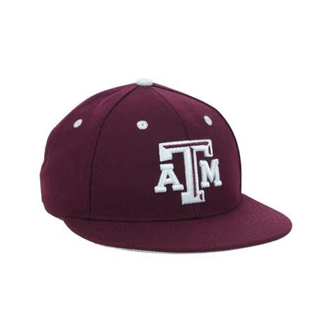 Baseball Cap Maroon adidas a m aggies on field baseball cap in for maroon lyst