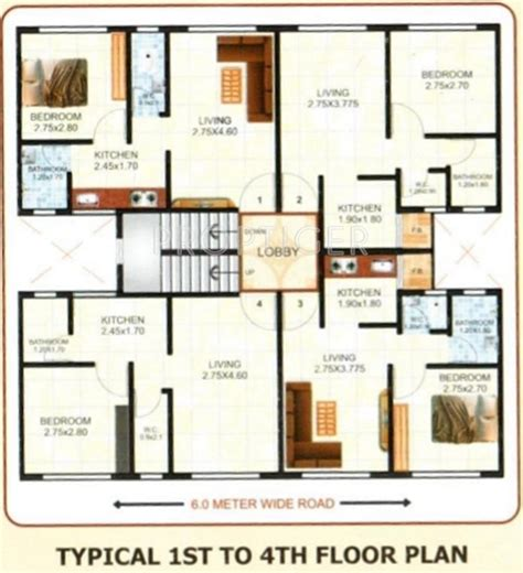 560 sq ft 560 sq ft 1 bhk 1t apartment for sale in shree developers