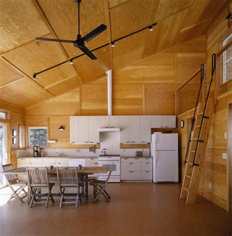 Hood Canal Cabin Stained Plywood Paneling My Plywood Ceiling Ideas