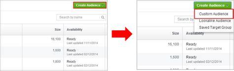 tutorial buat website tutorial cara buat website custom audiences wca