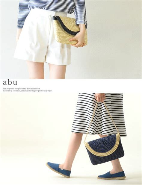 Clutch Bag Abu Abu Bg2305 crouka rakuten global market abu abu bicolor clutch