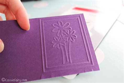 card craft ideas card craft ideas including sizzix embossing kit
