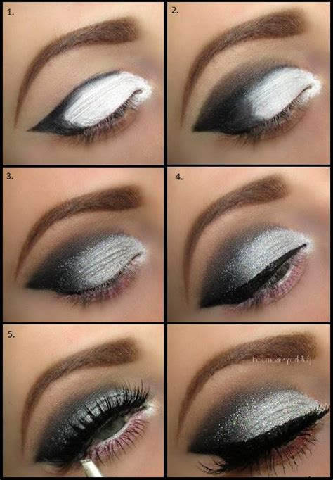 Eyeshadow Or Eyeliner shimmer smoke eye makeup for evening www ladylifehacks