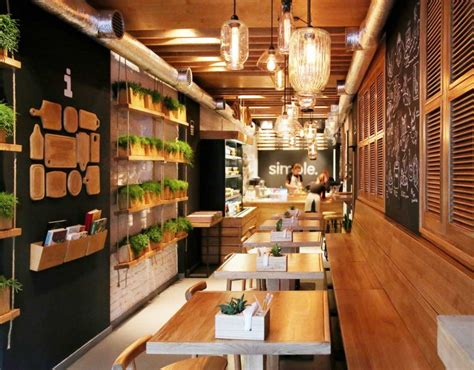 Simple Cafe Interior Design by Stunningly Simple Casual Restaurant Design Kiev