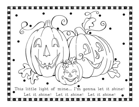 Christian Pumpkin Coloring Pages karla s korner coloring pages