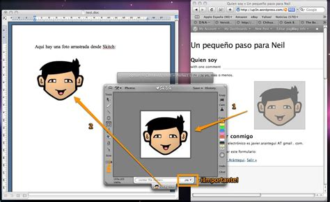 como insertar imagenes en latex mac como pegar im 225 genes en office que se vean en windows