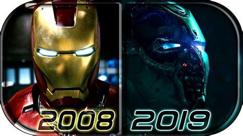 evolution iron man mcu movies avengers