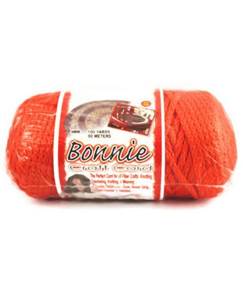 Bonnie Cord - orange 4mm bonnie macrame braided cord 90m simply macrame
