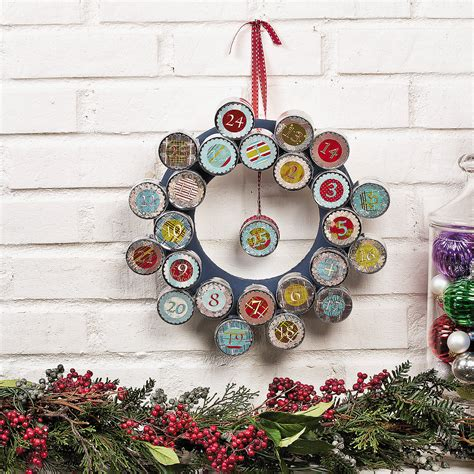 Handmade Advent Wreath - diy decorations handmade ornaments wreaths