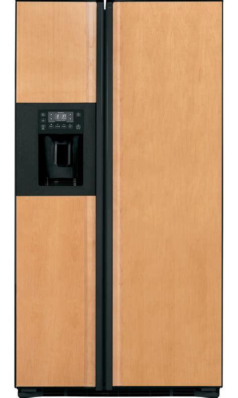 refrigerator panels ge profile pzs23kpebv 23 3 cu ft counter depth side