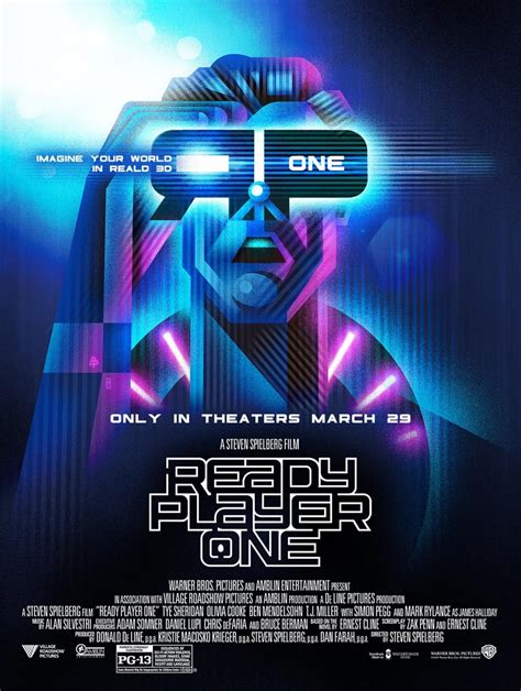 design is one movie ready player one 2018 poster 8 trailer addict
