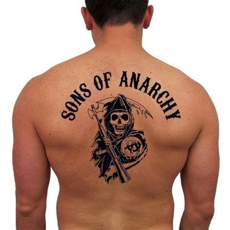 how to put on a temporary tattoo sons of anarchy temporary reaper set of 2 robby