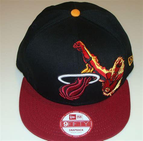 nba snapback hats c 4 miami heat nba new era hat cap snapback m l fantastic four