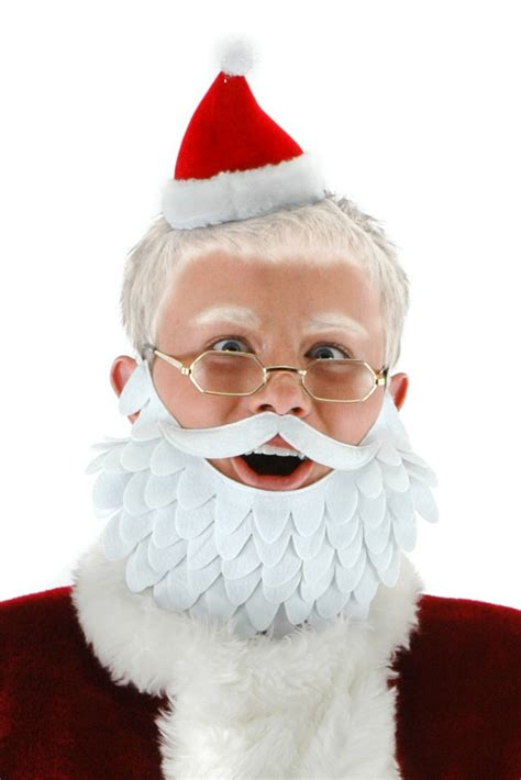 Minil Santaklaus mini santa kit beard and glasses costumes