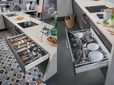 meuble cuisine la solution pour le rangement pratique une d 233 co cuisine avec des astuces rangements pour tiroirs