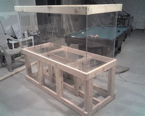 fish tank bench useful woodworking plans aquarium stand grand
