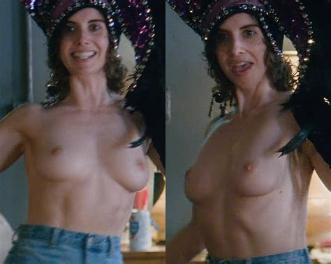 Alison Brie New Topless Nude Scene From  Glow