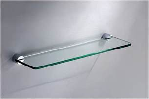 trendy floating shelf glass for amazingly house interior