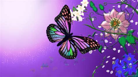 natural korean wallpaper with leaves loves butterfly wallpaper butterflies and flowers wallpapersafari