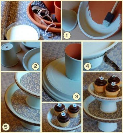 Diy Cupcake Stand Ideas Diy Wedding Cupcake Stand Once Wed