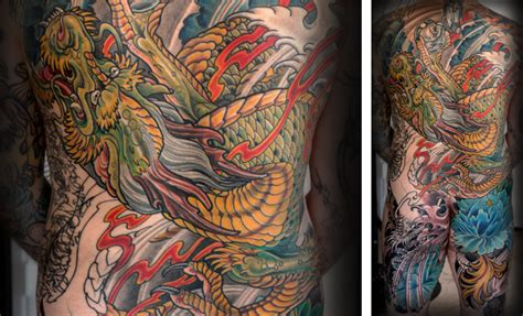tattoo japanese artist japanese dragon tattoo by terry ribera at san diego s best