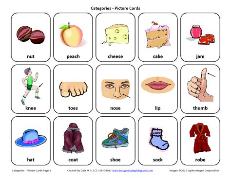 free therapy testy yet trying sorting by category free speech therapy picture cards