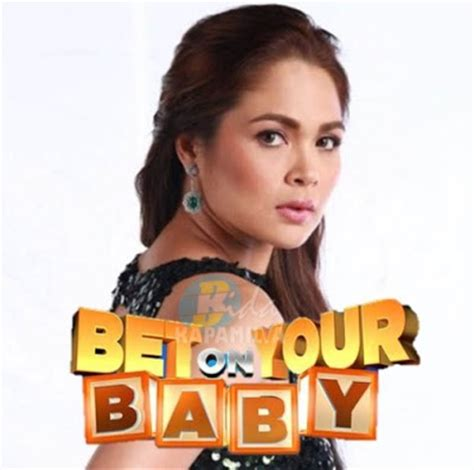 judy ann santos to host abs cbns new reality show for couples judy ann santos to host bet on your baby on abs cbn