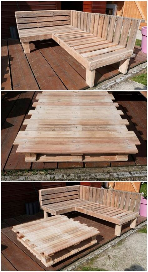 l shaped pallet couch best and easy ideas for wood pallet repurposing pallet
