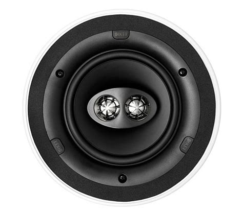 Single Stereo Ceiling Speaker by Kef Ci160crds Single Stereo In Ceiling Speaker