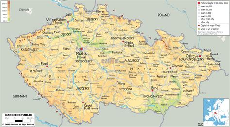 map republic maps of republic detailed map of the republic in travel map of