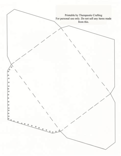 pattern for cd envelope envelope pattern moldes pinterest