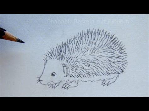 Leichte Sachen Zum Malen by Zeichnen Lernen Igel Zeichnen Einfache Anleitung